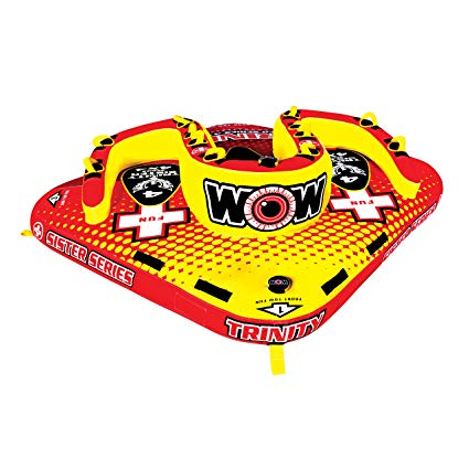 World of Watersports WOW Trinity 4 Person Ski Tube