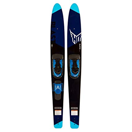 2017 HO Blast 63 Inch Combo Waterskis with Horseshoe/RTS Boot