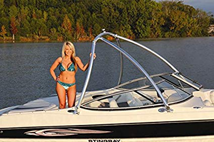 MTE Wakeboard Tower - Polished and Anodized - 2.5