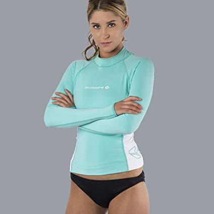 Oceanic Lavacore Lavaskin Women's Rashguard Long Sleeve Shirt