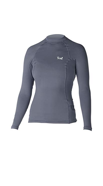 Xcel Marsha Long Sleeve UV Wetsuit, Graphite