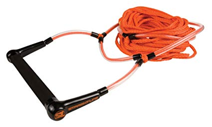 Straight Line Elevate Deep V Handle with 3 Section (Orange, 70-Feet)