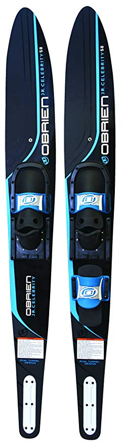 O'Brien Jr. Celebrity Kids Combo Water Skis with 600 Bindings, 58
