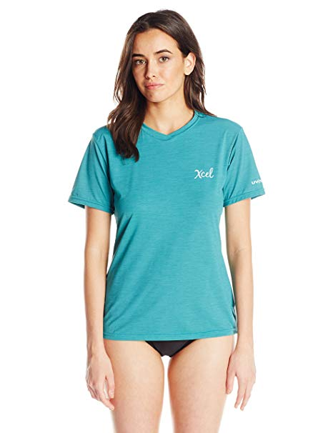 Xcel Women's Heathered Ventx Short Sleeve Top