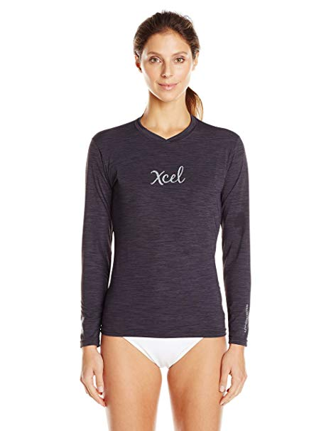 Xcel Women's Heathered Ventx Long Sleeve Top