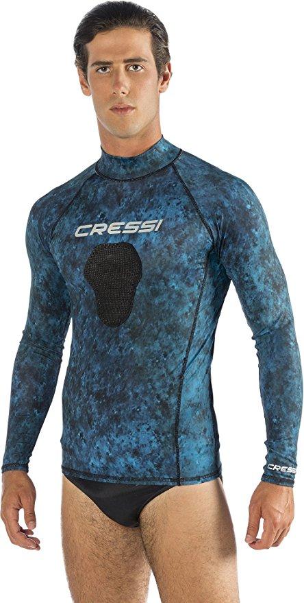 Cressi Demon - Mimetic Spearfishing Rash Guard