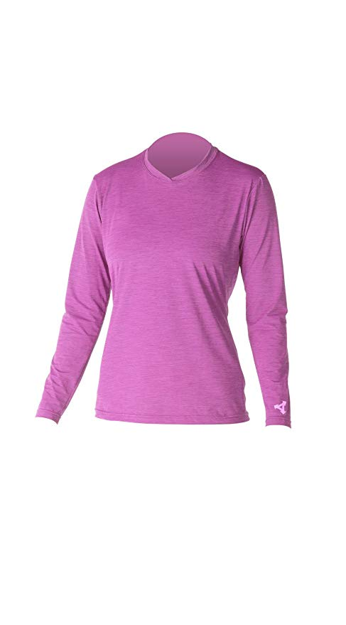 Xcel Lana 4-Way Series Long Sleeve UV Wetsuit, Heather Rose Violet