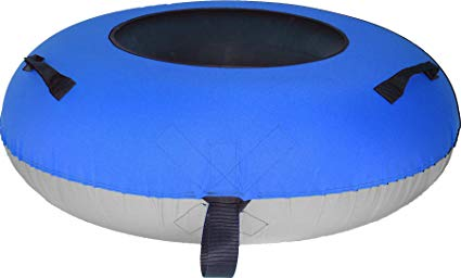 ClearCreekTubes Huge Towable Snow Tube Cover-blue/gray