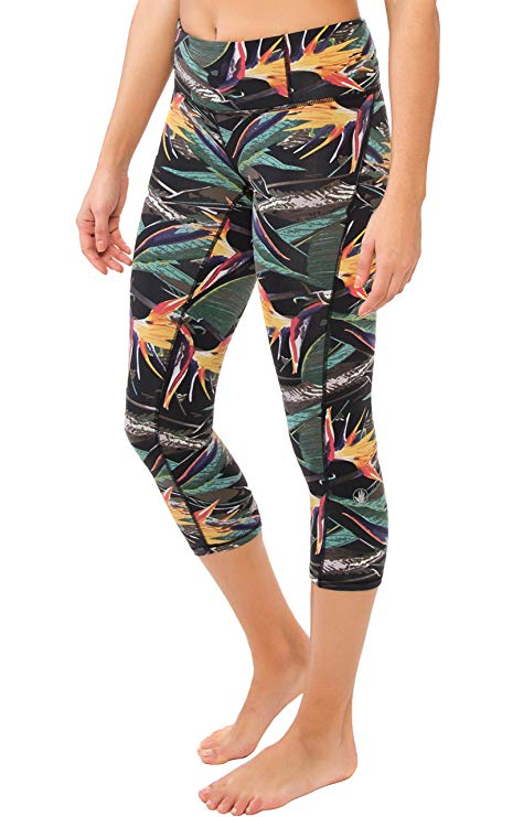 ody Glove Women's Strelitzia Capri Leggings